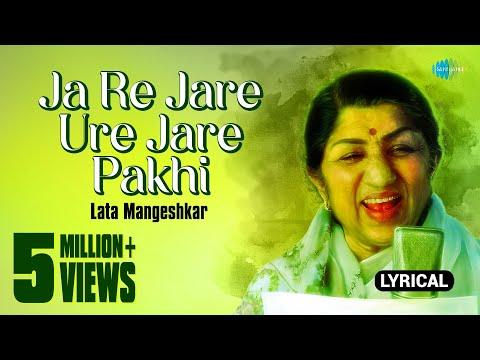 Ja Re Jare Ure Jare Pakhi with lyrics   Lata   Four Square Hits Bengali Modern Of Female Artists