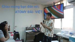 Giới thiệu về sản phẩm atomy Hàn Quốc - thông dịch tiếng trung.
