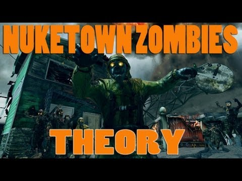 Black Ops 2 Zombies: Nuketown Zombies Theory! Marlton in the bunker (shelter) Tranzit bus? Link Moon