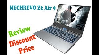 MECHREVO Z2 Air 9 Generation 15.6 inch Gaming Laptop - Platinum Review Price