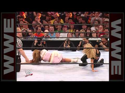 Trish Stratus vs. Mickie James - Women's Championship Match: WrestleMania 22