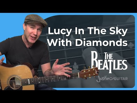 How To Play Lucy In The Sky With Diamonds By The Beatles (guitar Lesson Sb-409) video