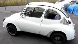 Another Subaru 360 hits the road !
