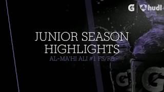 Download Lagu MLK Cougars FS/RB Al'Mahi Ali Junior Season Highlights 2017 Gratis STAFABAND
