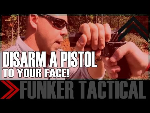 How To Disarm a Pistol To Your Face