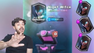 VREI NIGHT WITCH ?? IA NIGHT WITCH !!! Chest Opening ! Clash Royale Romania !