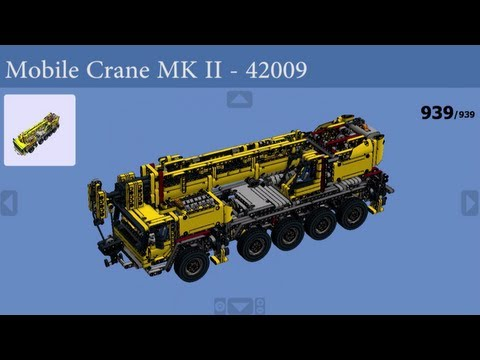 LEGO - How to build 42009 - Mobile Crane MK II