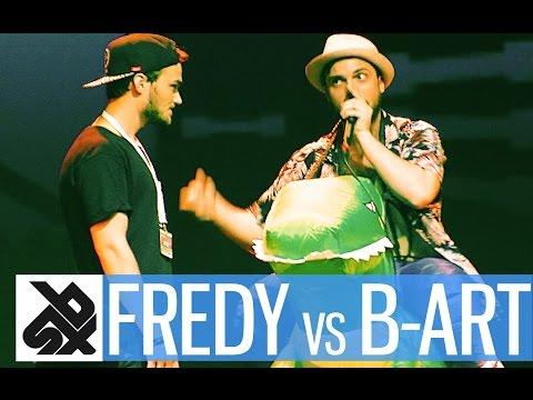 FREDY BEATS vs B-ART  |  Shootout Beatbox Battle 2016  |  SEMI FINAL