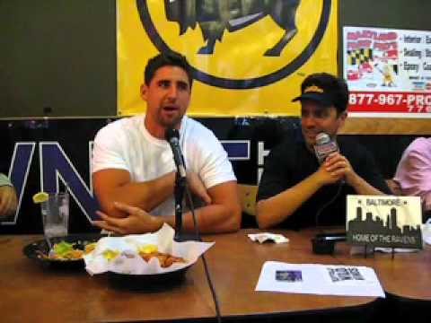 What does Dennis Pitta love about Baltimore?