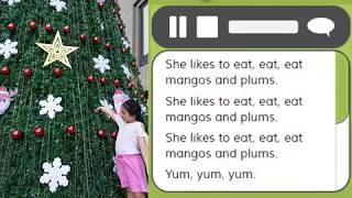 Mangos and Plums - Nhạc thiếu nhi tiếng Anh