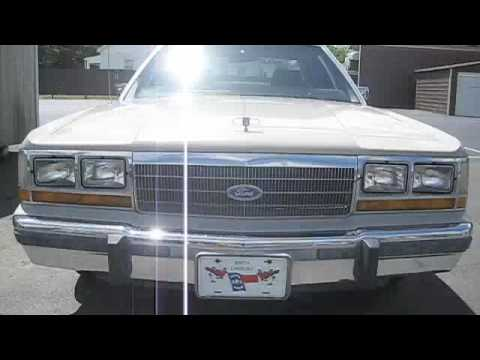 1988 ford crown victoria tour after full detailing youtube