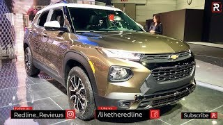 2021 Chevrolet Trailblazer – Redline: First Look – 2019 LA Auto Show