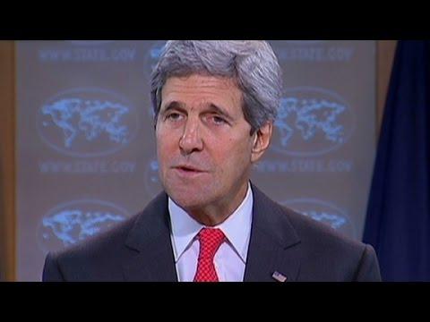 John Kerry details Mideast ceasefire proposal