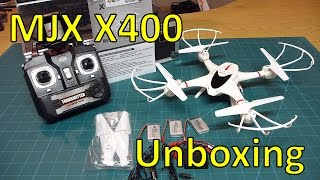 MJX X400 w/ Wifi FPV Unboxing, assembly, first impressions