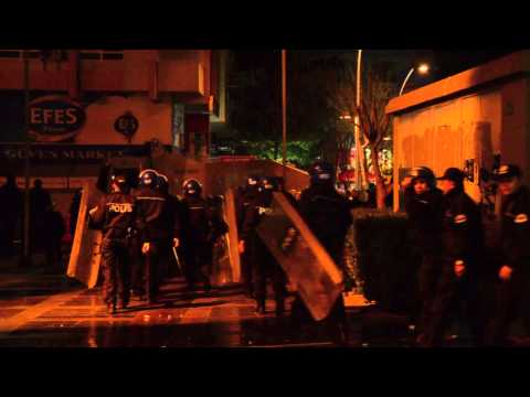 Antalya Protests over the death of Berkin Elvan