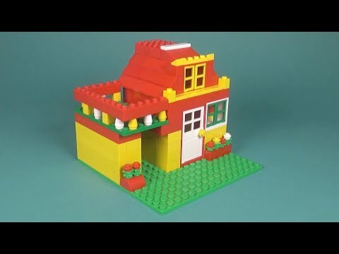 Lego Basic House 017 Building Instructions Lego Classic How To