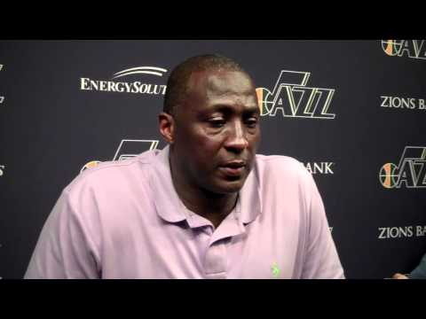 Ty Corbin on Dwight Howard being out for the Orlando magic, pregame April 21, 2012