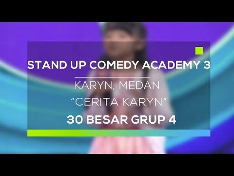 Stand Up Comedy Academy 3 : Karyn, Medan - Cerita Karyn