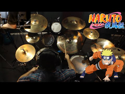 Kin   Naruto 5th Ending   Ima Made Nandomo   Mass Missle   Drum Cover (Studio Quality)