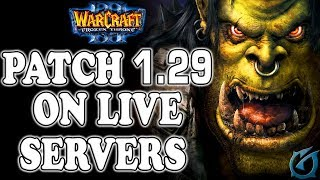 Grubby | Warcraft 3 The Frozen Throne | Patch 1.29 on LIVE SERVERS