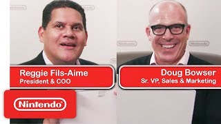 The Nintendo Guessing Game - ft. Reggie Fils-Aimé & Doug Bowser
