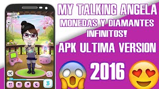 MY TALKING ANGELA CON MONEDAS INFINITAS ULTIMA VERSIÓN 2016