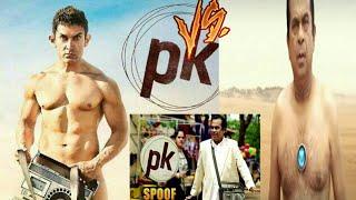 Amir Khan Vs Brahmanand Of movie Pk Make in South
