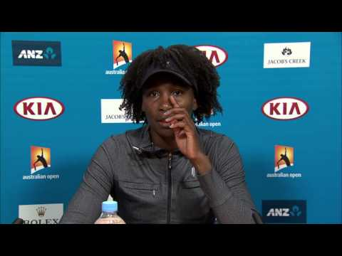 Venus Williams press conference (QF) - Australian Open 2015