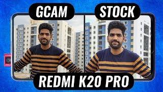 Redmi K20 Pro Google Camera vs Stock Camera + GCam Settings!🔥