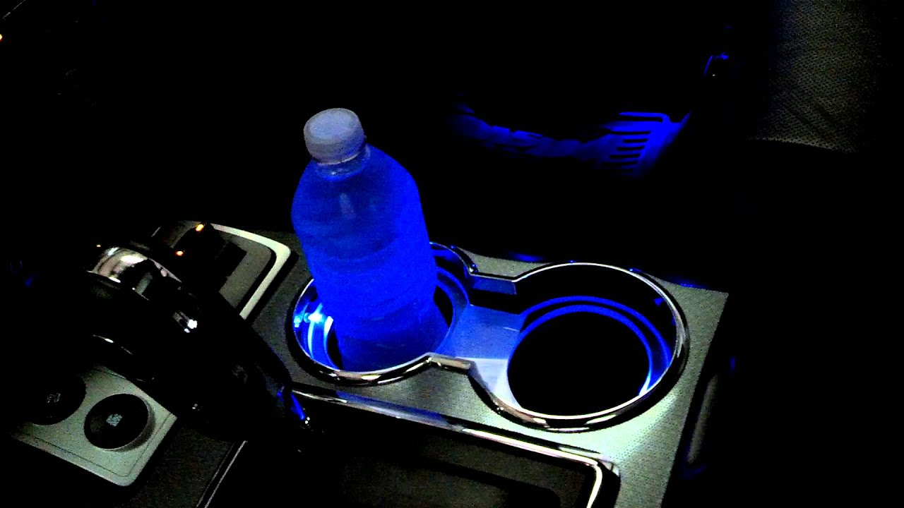 Dimmable Cupholder Lighting For F150 Raptor Thedoubleaa