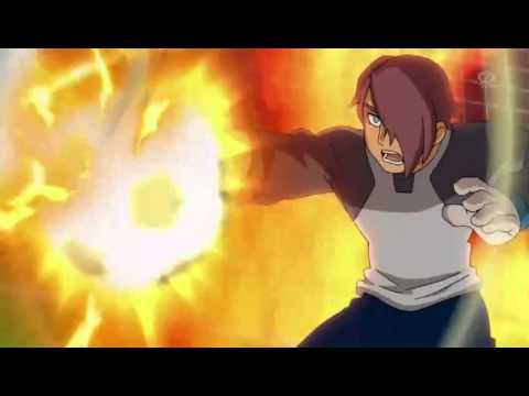 Inazuma Eleven Go Galaxy - Dragones De Fuego (go) - Gran Explosión De Palmadas video