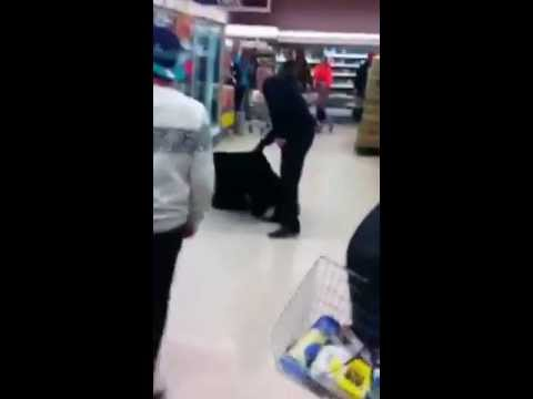 RHYJO the horse searches for family in tesco ©copyright rhystegs2013©
