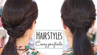 Easy ponytails