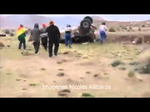 Accidente en el Rally DAKAR 2015