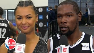 Kevin Durant: Signing with the Nets was the perfect decision for me | 2019 NBA Media Day