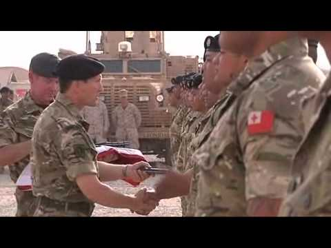 Tongan Defence Force complete tour of duty in Afghanistan