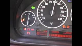 BMW E38 and E39 Cluster and pixel test (E46 and X5)
