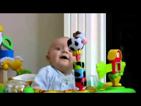 Baby Gets Scared When His Mother Blows Her Nose