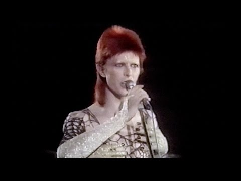 David Bowie - Jean Genie live 1973 (new edit / remastered) 1980 Floor Show
