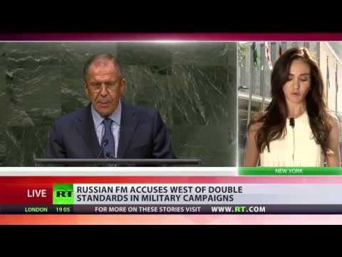 West guided by US rejects UN principle that all states are equal - Lavrov at UNGA