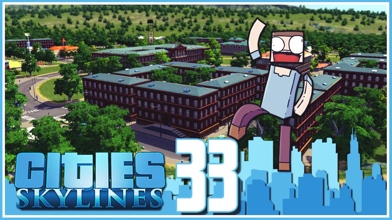 "Cities Skylines - Ep.33 : The Waterpoo University! <a href=""https://youtu.be/tP7zJqD_-Os"" class=""linkify"" target=""_blank"">https://youtu.be/tP7zJqD_-Os</a>"
