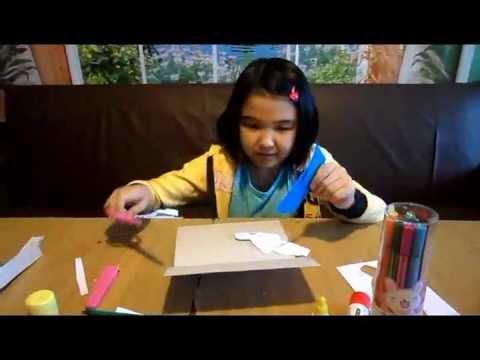 Видео как сделать открытку маме