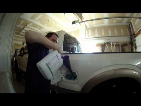 2011 Ford Super Duty 1st DEF Refill