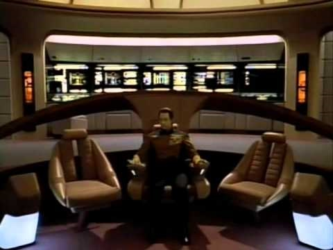 Data Goes Nuts!.... and impersonates Picard!