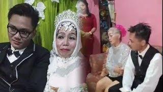 Dinikahi Pria 24 Tahun, Nenek 10 Cucu Dikenal Suka Bergaul hingga Videonya Joget Saat Resepsi Viral