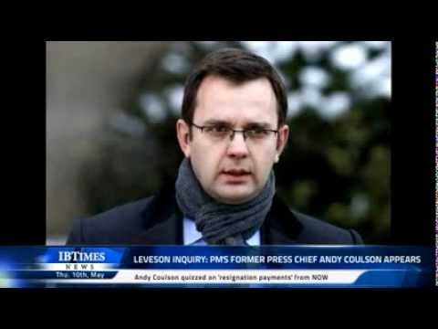 Leveson Inquiry: PM's former press chief Andy Coulson appears
