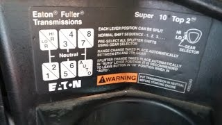 Como Manejar La Transmision Eaton Fuller Super 10