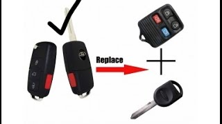 How to program chip key & 2 FOB remotes for Ford
