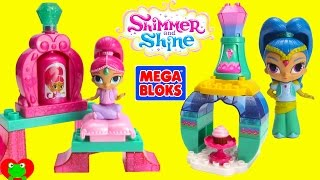 Shimmer and Shine Mega Bloks and Surprises