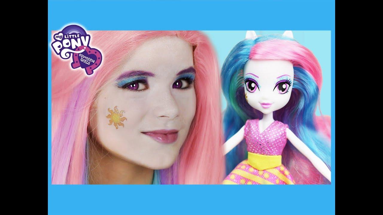 Equestria Girls Princess Celestia Doll Equestria Girl Doll Cosplay